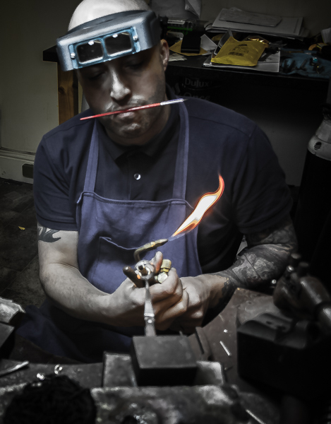 Guy Wakeling Jewellery at Work