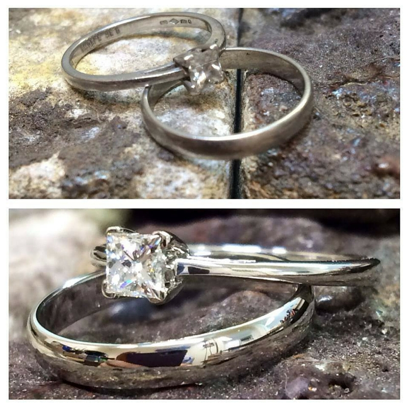 weding and engagement ring cleaning service from Guy Wakleing Jewellery