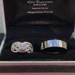 His and Hers wedding rings from Guy Wakeling Jewellery