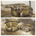 bespoke wedding and engagement ring from Guy Wakeling Jewellery