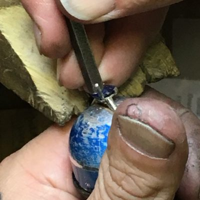 Guy Wakeling making bespoke rings