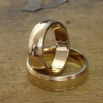 gold wedding bands from Guy Wakeling Jewellery
