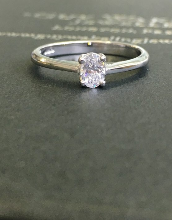 18ct White Gold Diamond Ring, 18ct White Gold, White Gold Ring, Diamond Ring, Diamond Solitaire Ring, D Collection, Diamond Ring, Diamond Engagement Ring, Solitaire Engagement Ring, Solitaire Diamond Ring, Diamond Dress Ring, Diamond Eternity Ring