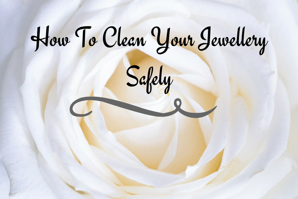 blog graphics for how to clean your jewellery safely blog by Guy Wakeling Jewellery