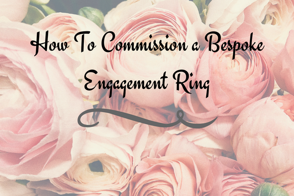 how to commission a bespoke engagement ring blog graphics.