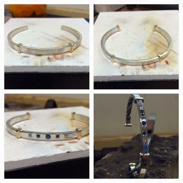 remodelled bracelet from Guy Wakeling Jewellery
