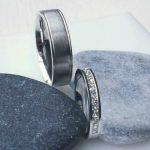Wedding Rings, White Gold Wedding Rings, diamond wedding rings, matching wedding rings, handmade wedding rings