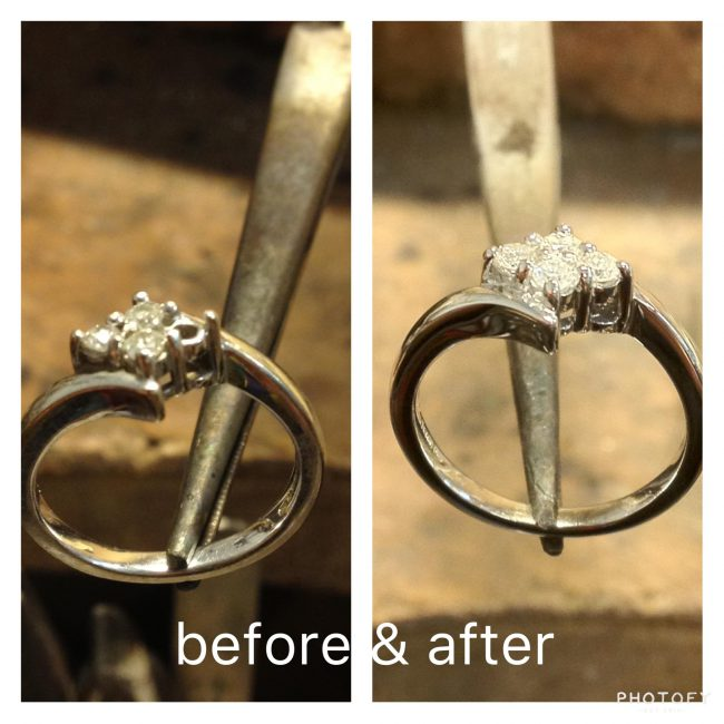 Ring repairs by Guy Wakeling Jewellery