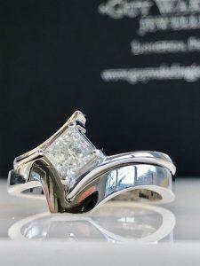 bridal set of rings bespoke engagement rings