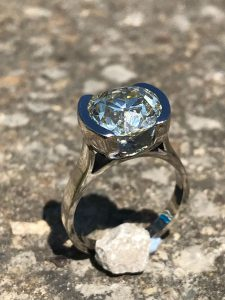 bespoke engagement rings from Guy Wakeling jewellery