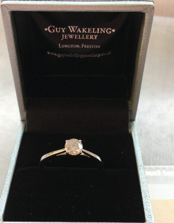 Emerald Cut Diamond, Platinum Diamond Ring, Emerald Diamond, Engagement Ring