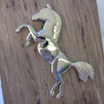 9ct Gold Large Horse Pendant, Horse Pendant, Horse, Gold Pendant