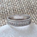 Wedding Ring, Diamond wedding rings, brilliant cut diamond wedding ring, platinum wedding ring, platinum diamond wedding ring, wedding ring, eternity ring ring, platinum diamond eternity ring,