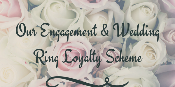 Matching wedding & engagement rings loyalty scheme