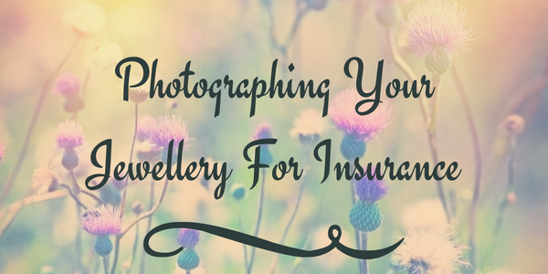 Photographing Jewellery for Insurance