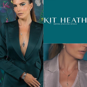 picture shows the popular Eden range of jewellery by Kit Heath and stocked in our new Preston jewellery shop