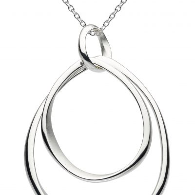 kit heath simple silver pendent