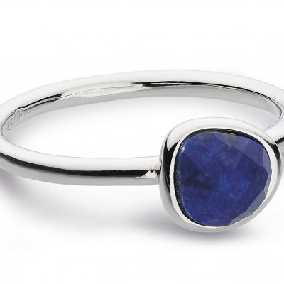 kit health blue silver ring