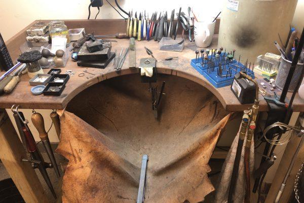 image of Guy's workbench